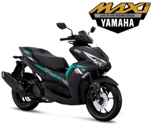 all-new-aerox-155-connected-hitam-cyan