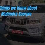 10 hal yang kita ketahui tentang Mahindra Scorpio mendatang »MotorOctane