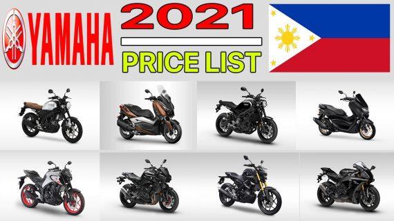 DAFTAR HARGA MOTOR YAMAHA DI FILIPINA 2021