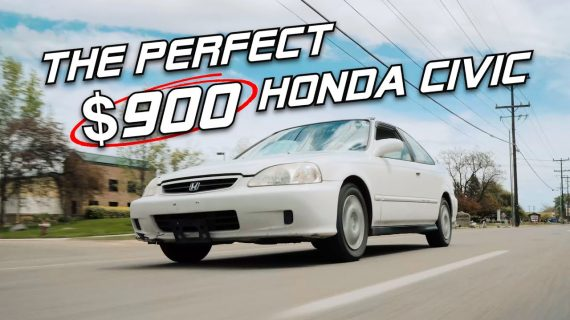 Saya membayar $ 900 untuk Honda Civic yang tidak Dibuang, SEMPURNA ?!