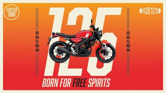 2021 Yamaha XSR125 – Lahir Untuk Yang Berjiwa Bebas