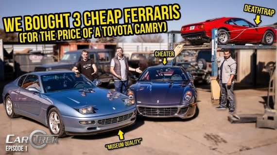 Kami Membeli 3 Ferrari Murah Untuk Harga Toyota Camry – Car Trek S4E1