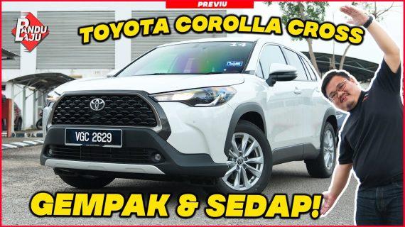 Toyota Corolla Cross 2021, Harga Mulai Dari RM124rb Sampai RM134k !!!