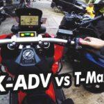 Honda X-ADV vs Yamaha T-Max