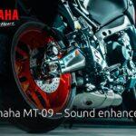 2021 Yamaha MT-09 – Peningkatan suara