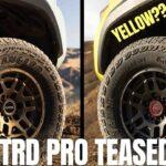 Model Tacoma BARU?  DAN Toyota MENGGODA Warna TRD Pro Kuning Baru !!