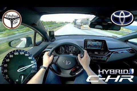 2021 Toyota C-HR Hybrid – Tes jalan tol.  V-max.
