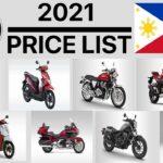 Daftar Harga Sepeda Motor Honda Di Filipina 2021
