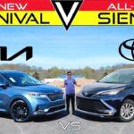 FAMILY FIGHT – 2022 Kia Carnival vs. 2021 Toyota Sienna: Perbandingan