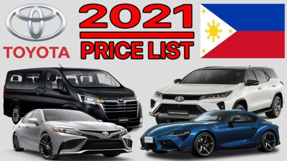 DAFTAR HARGA TOYOTA DI FILIPINA 2021