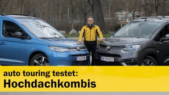 Tes Im: VW Caddy & Toyota Proace City Verso |  Tur otomatis AMTC
