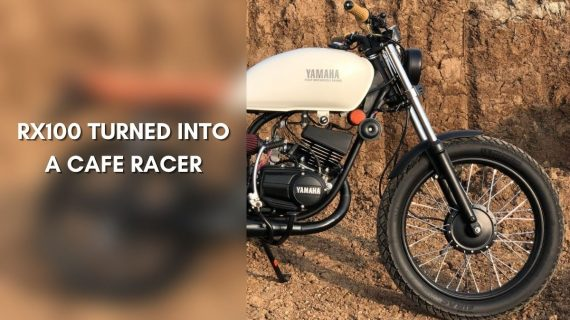 Modifikasi Yamaha RX 100 Super Keren »MotorOctane»