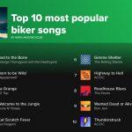Riset menemukan 'Bad to the Bone' adalah lagu paling populer untuk para bikers