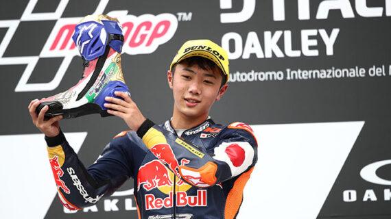 Taiyo Furusato menang dalam debutnya di Rookies Cup di Mugello