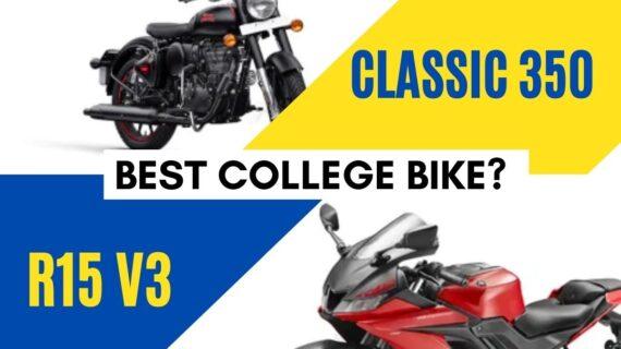 Sepeda kampus terbaik?  – Yamaha R15 V3 atau RE Classic 350 »MotorOctane