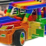 DIY – Cara Membuat TOYOTA Land Cruiser V8 2020 (Versi Baru) Dari(Memuaskan)|Magnet World Series #214
