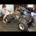 Membangun Kembali Honda 250x Quad seharga $350.  Apakah Ini Akan Berjalan?