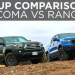 Ford Ranger 2021 vs Toyota Tacoma 2021 |  Perbandingan Pengambilan |  Mengemudi.ca