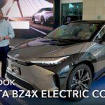 Mobil Konsep Listrik Toyota BZ4X: Tampilan Pertama (Rincian Dekat)