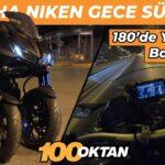 Berkendara Malam dengan Yamaha Niken 2020!  Ini Seperti Kereta Api!  🚂🚋🚋🚋