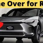 Toyota Tiba-tiba Membawa BZ4X EV ke AS Menjelang Peluncuran 2022