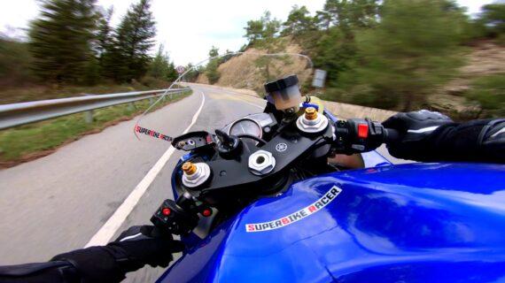 Suara Murni Yamaha R6 Dengan Quickshifter