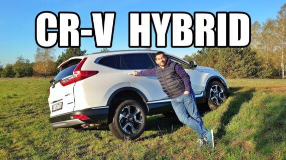 Honda CR-V Hybrid – saingan RAV4 (PL) – test dan test drive