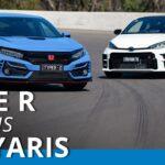Uji Perbandingan Toyota GR Yaris v Honda Civic Type R 2021 @carsales.com.au