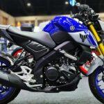 New Yamaha MT-15 2021 Biru Abu-abu