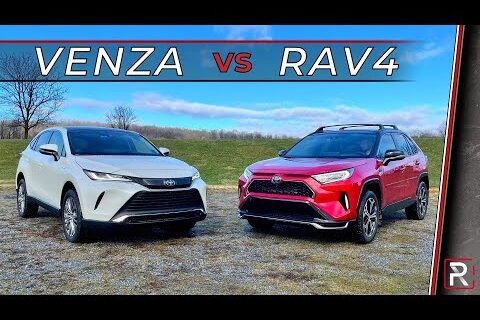2021 Toyota Venza Vs.  Toyota RAV4 2021 – SUV Toyota Hybrid Mana yang Terbaik?