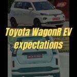 Toyota WagonR EV – 5 Ekspektasi » MotorOctane
