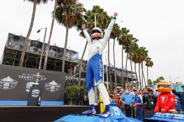 Palou, Honda, Klaim Kejuaraan INDYCAR NTT 2021