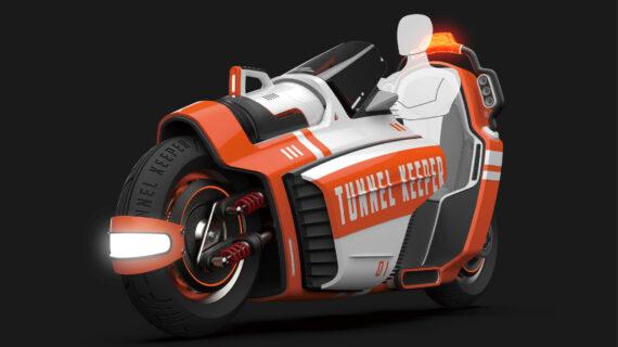 TUNNEL KEEPER: Sepeda Motor Pemadam Kebakaran Roda Dua