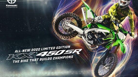 Kawasaki memperkenalkan model Motocross baru