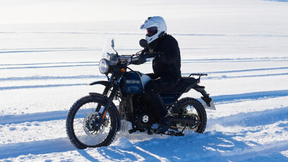 Ekspedisi sepeda motor ke Kutub Selatan dijadwalkan