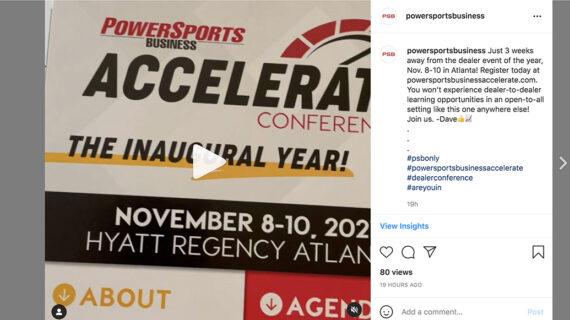 Dealer dari dua negara bagian lainnya mendaftar ke Accelerate Conference